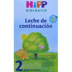 LECHE DE CONTINUACIÓN 600 G HIPP