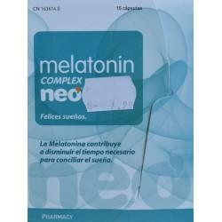 MELATONIN COMPLEX 15 CÁPSULAS NEO