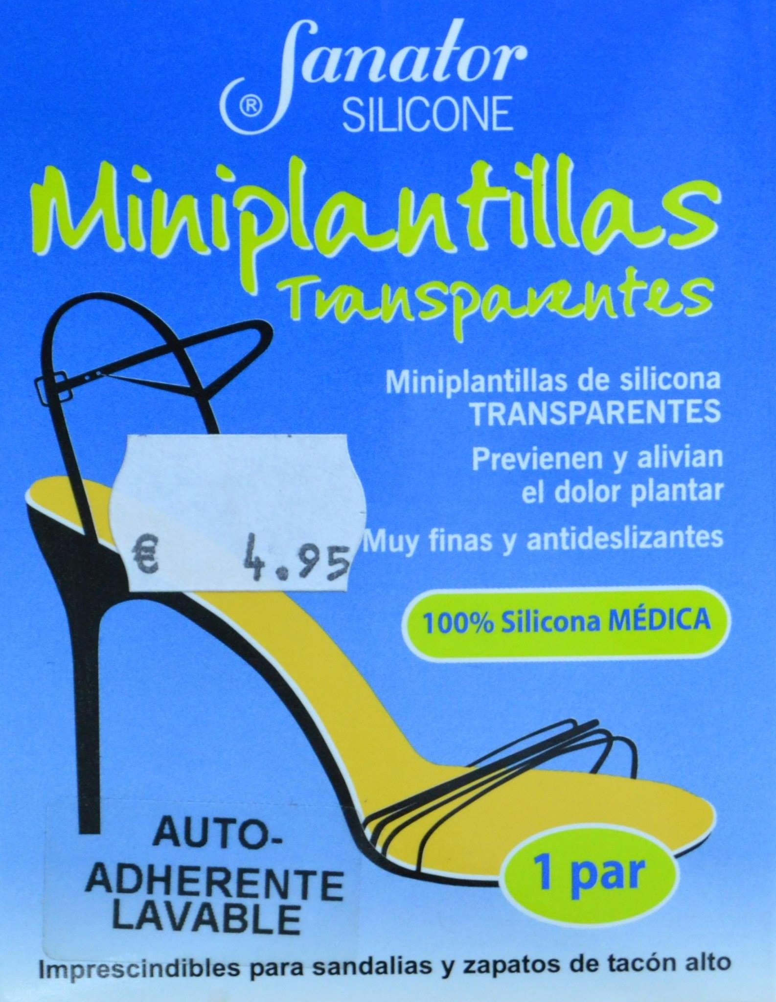 Anna Riba Silicona Farmacia Par Sanator Miniplantillas 1 Transparentes jL54RA