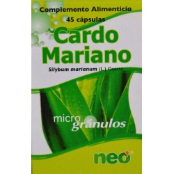 CARDO MARIANO 45 CÁPSULAS NEO
