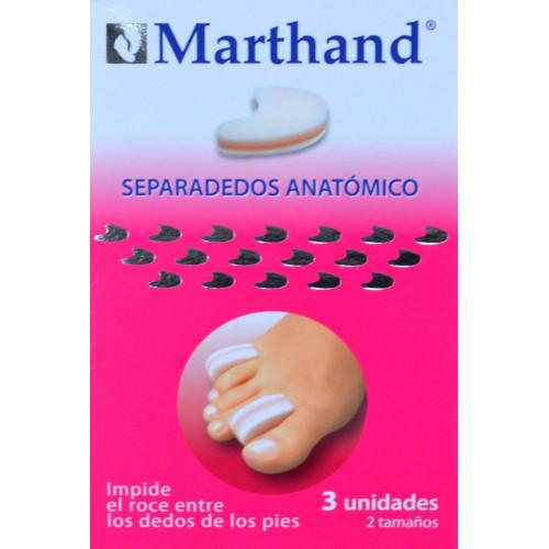 SEPARADEDOS ANATÓMICOS 3 UNIDADES 2 TAMAÑOS MARTHAND