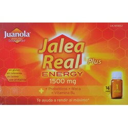 JALEA REAL ENERGY PLUS 14 VIALES JUANOLA