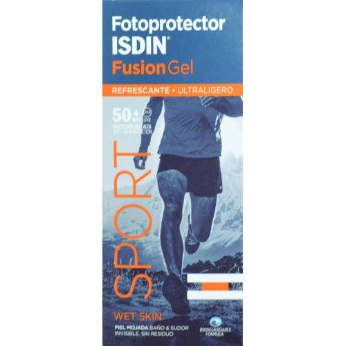 FOTOPROTECTOR FUSION GEL SPORT 50+ SPF 100 ML ISDIN