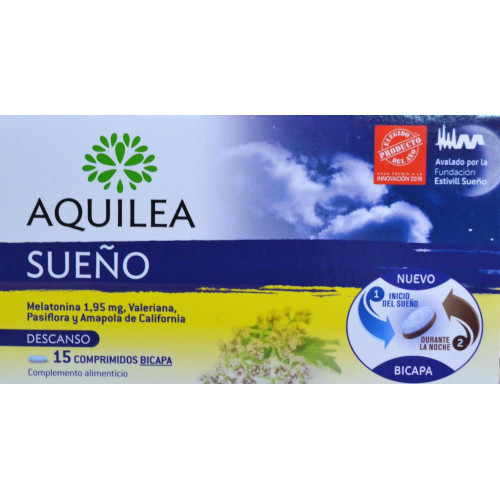 AQUILEA SUEÑO 15 COMPRIMIDOS URIACH