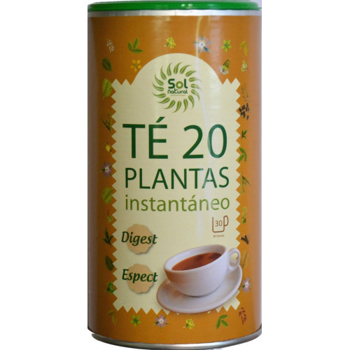 TÉ 20 PLANTAS INSTANTÁNEO 190 G SOL NATURAL