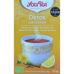 DETOX CON LIMÓN 17 BOLSITAS YOGI TEA