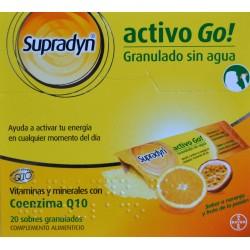 ACTIVO GO 20 SOBRES GRANULADOS SUPRADYN