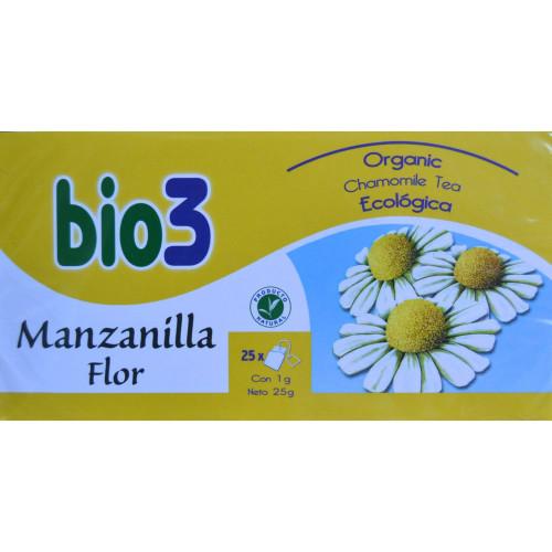 MANZANILLA ECOLÓGICA 25 BOLSITAS BIO 3