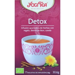 DETOX 17 BOLSITAS YOGI TEA