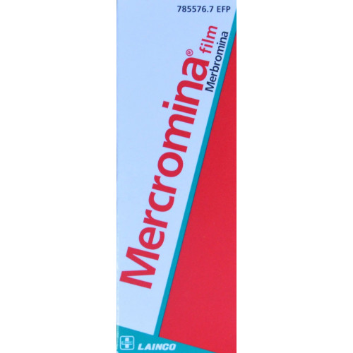 MERCROMINA FILM 10 ML LAINCO