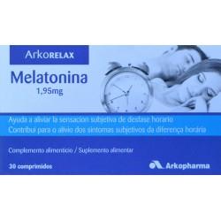 ARKORELAX MELATONINA 1,95 MG 30 COMPRIMIDOS ARKOPHARMA
