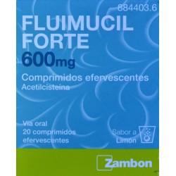 FLUIMUCIL FORTE 600 MG 20 COMPRIMIDOS EFERVESCENTES ZAMBON