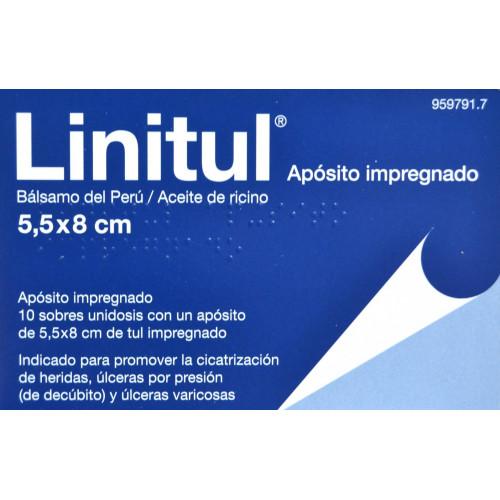 LINITUL APÓSITO IMPREGNADO 5,5 X 8 CM BAMA-GEVE
