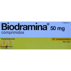 BIODRAMINA 50 MG 12 COMPRIMIDOS GRUPO URIACH