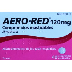 AERO-RED 120 MG 40 COMPRIMIDOS MASTICABLES URIACH