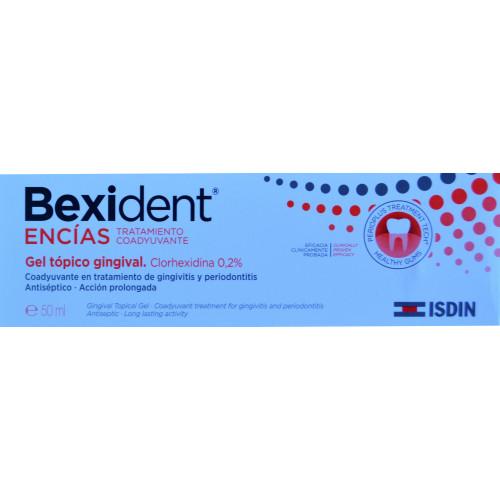 GEL GINGIVAL BEXIDENT ENCÍAS 50 ML ISDIN
