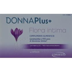 DONNAPLUS+ FLORA ÍNTIMA 14 CÁPSULAS ORDESA
