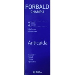 CHAMPÚ ANTICAÍDA FORBALD 250 ML INTERPHARMA