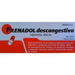 FRENADOL DESCONGESTIVO 16 CÁPSULAS DURAS