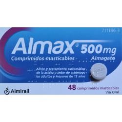 ALMAX 500 MG 48 COMPRIMIDOS MASTICABLES ALMIRALL