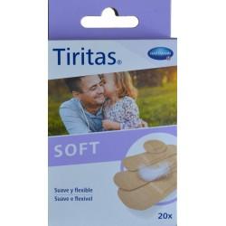 TIRITAS SOFT 20 UNIDADES HARTMANN