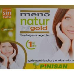 MENO NATUR GOLD 30 CÁPSULAS PINISAN