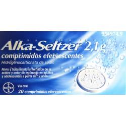 ALKA-SELTZER 2,1 G 20 COMPRIMIDOS BAYER