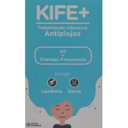 KIFE+ ANTIPIOJOS OIL 100 ML + CHAMPÚ FRECUENCIA 100 ML INTER PHARMA