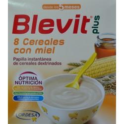 BLEVIT 8 CEREALES CON MIEL 2 X 300 G ORDESA