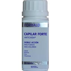 ANTICAÍDA CAPILAR FORTE CON BIOTINA DOBLE ACCIÓN 60 CÁPSULAS FORBALD