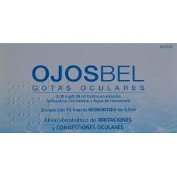 OJOSBEL 10 FRASCOS MONODOSIS DE 0,5 ML LABORATORIOS DERMOFARM
