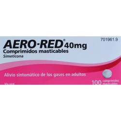 AERO-RED 40 MG 100 COMPRIMIDOS MASTICABLES URIACH