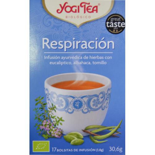 RESPIRACIÓN 17 BOLSITAS DE INFUSIÓN YOGI TEA