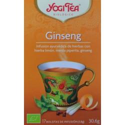 GINSENG 17 BOLSITAS YOGI TEA