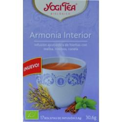 ARMONÍA INTERIOR 17 BOLSITAS YOGI TEA