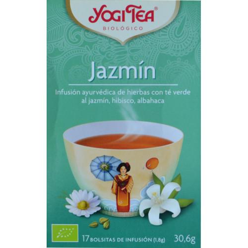 JAZMÍN 17 BOLSITAS YOGI TEA