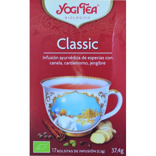 CLASSIC 17 BOLSITAS YOGI TEA