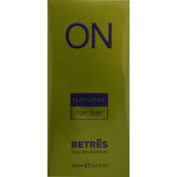 EAU DE PARFUM NATURAL 100 ML BETRES ON