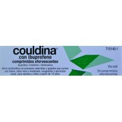 COULDINA CON IBUPROFENO 20 COMPRIMIDOS EFERVESCENTES ALTER