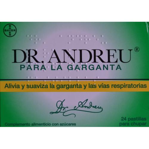PASTILLAS PARA LA GARGANTA DR. ANDREU BAYER