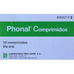 PHONAL 10 COMPRIMIDOS REIG JOFRÉ