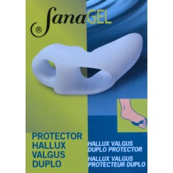 HALLUX VALGUS DUPLO PROTECTOR SANAGEL