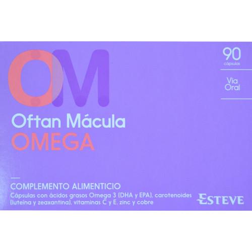 OFTAN MÁCULA OMEGA 90 CÁPSULAS ESTEVE
