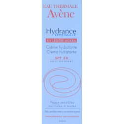 CREMA HIDRATANTE HYDRANCE OPTIMALE SPF20 40 ML AVÈNE