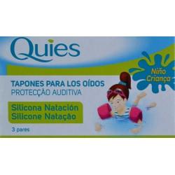 TAPONES PARA LOS OÍDOS 3 PARES QUIES