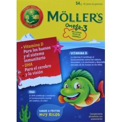 MOLLER'S 45 PECES DE GOMINOLA