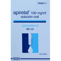 APIRETAL 100 MG/ML SOLUCIÓN ORAL 60 ML ERN