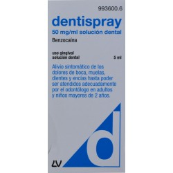 DENTISPRAY 50 MG/ML SOLUCIÓN DENTAL 5 ML LABORATORIOS VIÑAS