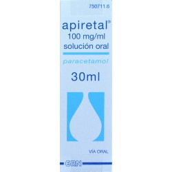 APIRETAL 100 MG/ML SOLUCIÓN ORAL 30 ML ERN