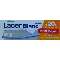 LACER BLANC PLUS D-MENTA DOBLE REGALO + 20% DE PRODUCTO + CEPILLO BLANQUEANTE